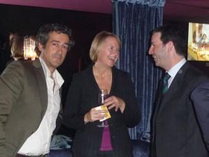 Paco Prieto, Susan Kenney y Juan Pablo Ferrero (Intel)