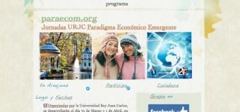 Nueva web Jornadas URJC paradigma economico emergente