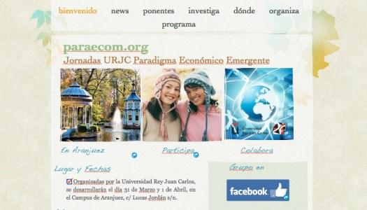 web URJC Paradigma Económico Emergente
