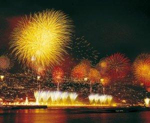 Fogo-de-artificio na Madeira