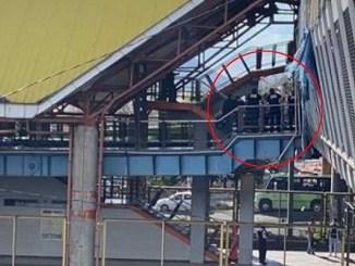 Asesinan a hombre en escaleras de metro Río de los Remedios