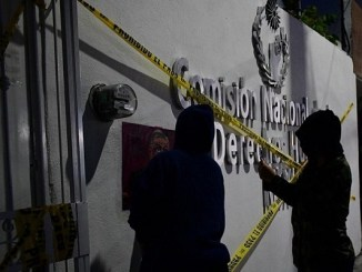 Colectivos feministas toman instalaciones de CNDH de Ecatepec #VIDEO