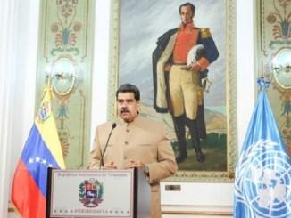 Venezuela propone a la ONU creación de fondo para alimentos y medicinas