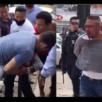 Así fue la golpiza que recibió un ladrón de tarjetahabientes en Tabasco #VIDEO
