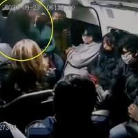 """Tras ser asaltada pasajera grita a ladrón """"Que la Santa Muerte te lo multiplique"""" #VIDEO"""