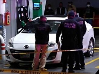 Asesinan a pareja en gasolinera de Naucalpan