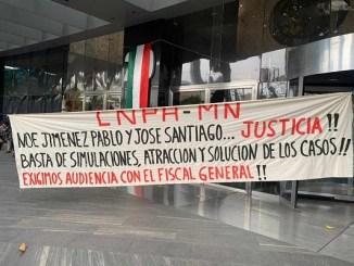 Miembros de la CNPA exigen investigación por muertes de activistas