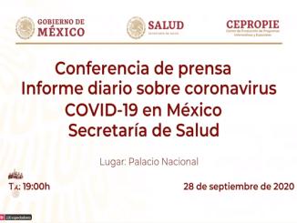 Son ya 733 mil 717 casos confirmados de coronavirus en México