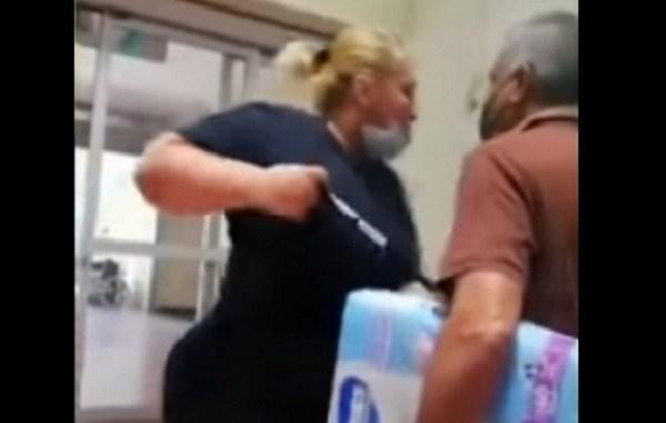 Continúan las agresiones hacia personal de seguridad de Walmart #VIDEO