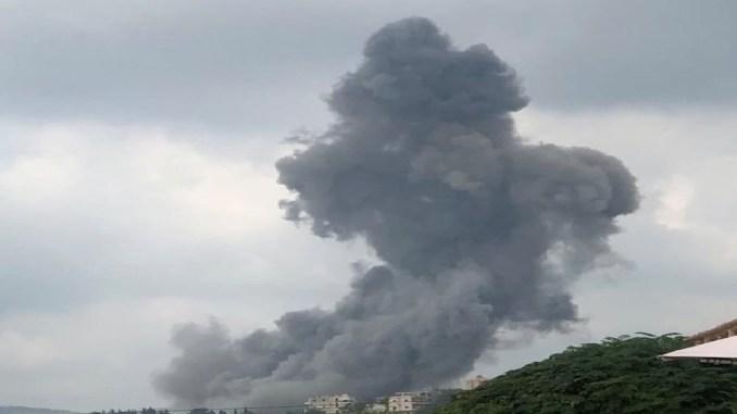 ¡Una más! reportan fuerte explosión al sur de Líbano #VIDEO