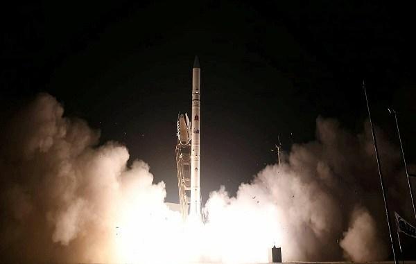 Ofeq 1, superioridad tecnológica: el primer satélite israelí lanzado en 1988.