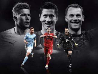 Así quedó la terna para Mejor Jugador de la UEFA... Y Messi no está