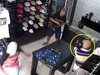 Comerciante enfrenta y asesina a tres delincuentes que pretendían asaltarlo