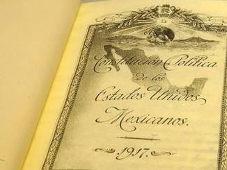 Así fue la publicación de la primera constitución en México
