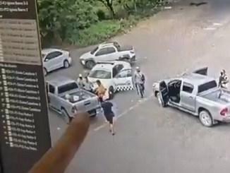 Secuestran y liberan a oficial de la Guardia Nacional en Colima #VIDEO