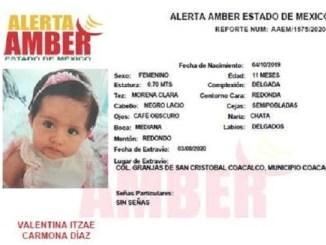 Mamá de Valentina tiene más de un año separada de su hija #AlertaAmber