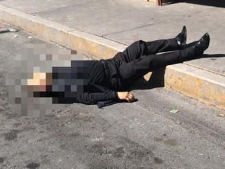 Guardia de seguridad de una casa de empeño es asesinado al tratar de impedir un robo