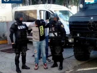 Los 14 detenidos en Xochimilco son trasladados al Reclusorio Oriente #VIDEO