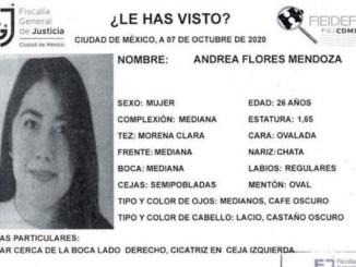 Andrea tiene 26 años y desapareció en la Álvaro Obregón, ayudemos a que vuelva a casa