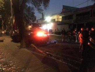 Vecinos de Coyoacán exigen justicia para motociclista atropellado por un ebrio #VIDEO