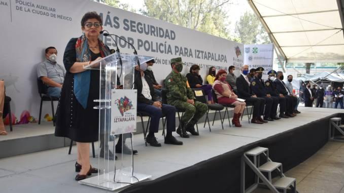 Ponen en operación 130 nuevas patrullas y motopatrullas en Iztapalapa