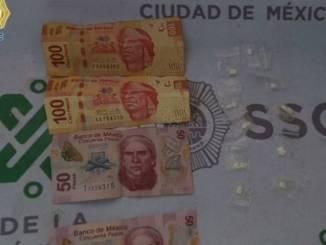 Jóvenes son detenidos con droga y dinero en efectivo, señalados de pertenecer a grupo delictivo