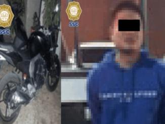 Agentes de la SSC detienen a un sospechoso de la ejecución en la Morelos
