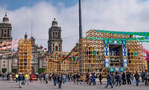Anuncian que no habrá ofrenda monumental por Día de Muertos, en el Zócalo