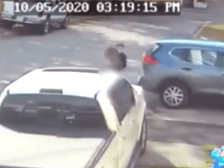 En cuestión de segundos, una niña es secuestrada en Rhode Island al bajar del autobús escolar #VIDEO