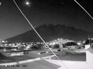 Sorprende caída de meteorito en Tamaulipas #VIDEO