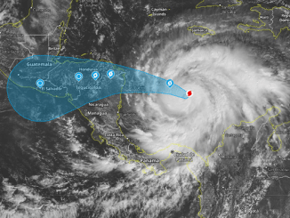 Se eleva a categoría 4 huracán 'Iota' y continúa avanzando por Centroamérica