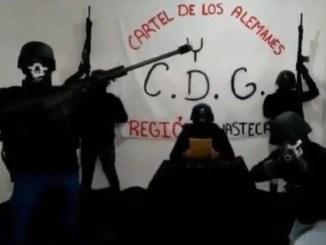 Integrantes del Cártel del Golfo amenazan a gobernador de SLP #VIDEO