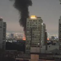 Se incendia subestación de la CFE junto a Metro Coyoacán, CDMX #VIDEO
