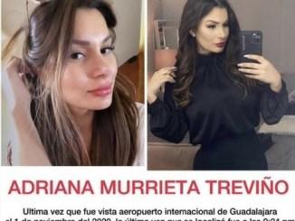Fiscalía de Jalisco investiga feminicidio de la sonorense Adriana Murrieta