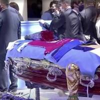 Filtran foto del cuerpo de Diego Armando Maradona y despiden a empleado