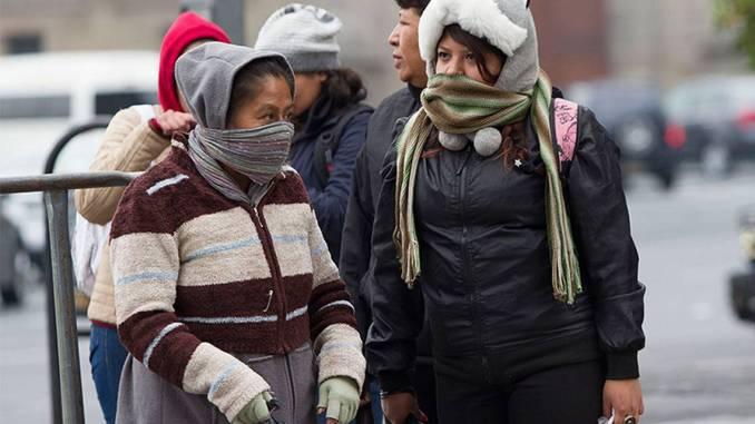 Mantienen alerta por frío en 6 alcaldías de CDMX, para el sábado