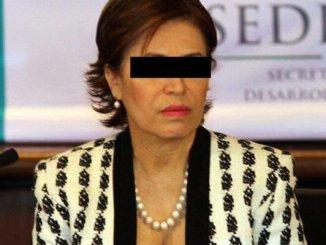 """""""Es una infamia"""", dice Rosario Robles sobre nueva orden de aprehensión en su contra"""
