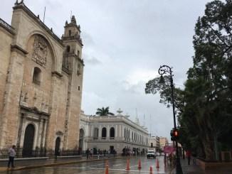 Eta provocará lluvias y vientos fuertes en la Península de Yucatán hoy miércoles