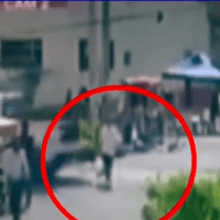 Mujer es atropellada por la Guardia Nacional en Nezahualcóyotl #VIDEO