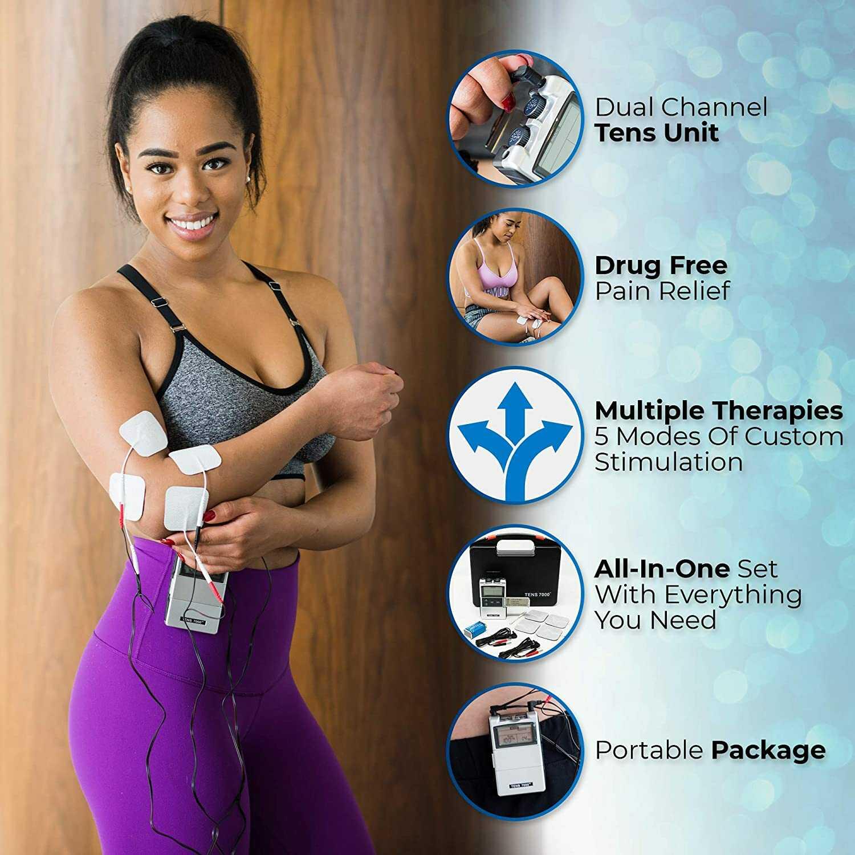 Los 10 mejores electroestimuladores musculares para el fortalecimiento y la rehabilitación
