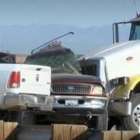10 mexicanos murieron en el choque en California este martes: SRE
