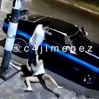 Buscan a sujeto que golpeó a mujer en Coapa y la arrastró a su vehículo #VIDEO