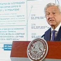 """Acusa AMLO a EU de """"financiar el golpismo"""" y envía nota diplomática"""