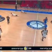 Pánico en Israel por alerta anti misiles durante partido de básquetbol #VIDEO