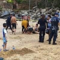 Padre muere ahogado al salvar a su hijo en playa de Nayarit
