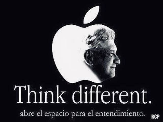 Edita Morena campaña de Apple con rostro de AMLO