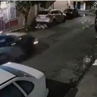 Policías ignoran choque de motociclistas, en Iztapalapa #VIDEO