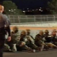 Reportan detención de militares mexicanos en frontera con EE.UU.