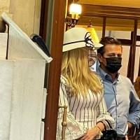 """Captan a Peña Nieto saliendo de hotel en Roma y le gritan """"ratero"""" #VIDEO"""