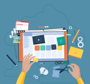organizing a website